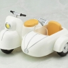 Cu-poche Extra - Motorcycle & Sidecar (Milk White)(Pre-order)