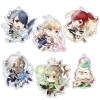 """Chara-Forme - """"Fire Emblem Heroes"""" Acrylic Strap Collection 6Pack BOX(Pre-order)"""