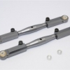 ALUMINIUM FRONT ADJUSTABLE UPPER TIE ROD - 1PR SET