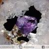 ▽จี้อเมทิสต์+อาเกต (Amethyst+Agate) (16g)