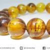 ▽สร้อยข้อมือ อำพัน(Amber) จากพม่า (11mm.-14g)