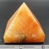 [สินค้าตามสภาพ-ไม่ลดเพิ่มแล้ว]หินทรงพีระมิค- อเวนจูรีนสีส้ม Orange Aventurine (135g)