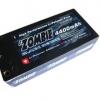 4400mah 90c/180c 7.4V Li-Po 4mm short pack hard case