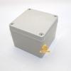 กล่องอิเล็กทรอนิกส์ อเนกประสงค์ กันน้ำ สีเทา 125*125*100mm