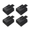 SJCAM Battery 900 mAh SJCAM (Sj4000 , Sj5000) 4 Pcs