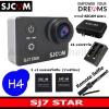 SJ7 STAR + Battery +Dual Charger+SJCAM Bag(L)+Remote Selfie