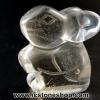 หินควอตซ์แกะเป็นรูปกระต่าย ปีนักษัตร ปีเถาะ(6g)