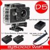 Sj5000X+ Battery + Dual Charger + TMC Selfie( 7 สี )