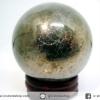 ํ▽ไพไรต์ (Pyrite) ทรงบอล หินทรงกลม เกรด A (4.7 cm, 271g.)