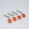 ALUMINIUM SHIMS & STAINLESS STEEL SCREWS - TXM007