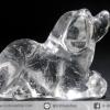 หินควอตซ์แกะเป็นรูปสุนัข ปีนักษัตร ปีจอ (22g)