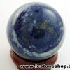 ▽ลาพิส ลาซูลี (Lapis lazuli) ทรงบอล หินทรงกลม 3.3 cm