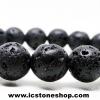 สร้อยข้อมือหินลาวา (Lava Stone) 10mm.