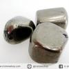 ไพไรต์ขัดมันขนาดพกพา 3 ชิ้น Pyrite (45g)