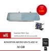 กล้องติดรถยนต์ Supercam รุ่น RM01 dual ฟรี Micro SD Kingston 16GB Class10