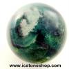 ▽ฟลูออไรต์ (Fluorite) ทรงบอล หินทรงกลม 3.6 cm