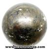 ไพไรต์ (Pyrite) ทรงบอล หินทรงกลม (8.2 cm, 1.4Kg.)
