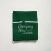 ผ้ากันเปื้อน สีเขียวเข้ม