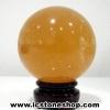 ▽แคลไซต์(calcite) ขนาดใหญ่ทรงบอล 7 cm 486g