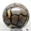 ํ▽เซ็ปแทเรี่ยน Septarian (Dragon stone) หินทรงกลม (9.2 cm.,1.15 Kg)