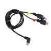 USB TV Out Cable for SJCAM Sj4000 Series , Sj5000 Series