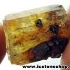 ํYellow Apatite อพาไทต์สีเหลือง กับแมกนีไทต์ (8g)