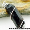 ▽จี้สโมกี้ควอตซ์สีเข้ม black smokey quartz (4.5g)