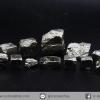 ํ▽เพชรหน้าทั่ง หรือไพไรต์ pyrite ทรงลูกบาศก์ 12 ชิ้น (50g)