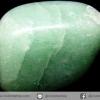กรีนอะเวนจูรีน (Green Aventurine) ขัดมันขนาดพกพา (29g)