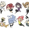 Kiznaiver - Rubber Strap Collection Buralink 8Pack BOX(Pre-order)