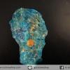 บลูอพาไทต์(Blue Apatite) ก้อนธรรมชาติ (38g)
