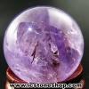 อเมทิสต์ Amethyst ทรงบอล หินทรงกลม 2.8 cm