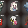 [Bonus] Eformed Mekakucity Actors - PajaChara Rubber Strap Collection Vol.1 6Pack BOX(Pre-order)