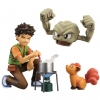 G.E.M. Series - Pokemon: Brock & Geodude & Vulpix Complete Figure(Pre-order)