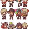 Rubber Mascot Buddy Colle - TIGER & BUNNY 6Pack BOX(Pre-order)