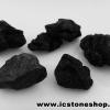 นิล Black pyroxene 5 ชิ้น (151g)