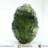 สะเก็ดดาวสีเขียว โมลดาไวท์ (Moldavite) 11.44ct.
