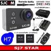 SJ7 STAR + Battery +Dual Charger+SJCAM Bag(L)+Remote Selfie+Remote Band+Microphone