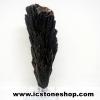 ไคยาไนท์สีดำ Black Kyanite (43g) พร้อมฐานกระจก