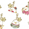 Metal Charm Collection - Gintama Elizabeth no 12 Seiza Uranai Chap.2 Moikkai Saint Elly 8Pack BOX(Pre-order)