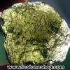 สะเก็ดดาวสีเขียว โมลดาไวท์ (Moldavite) 26.65ct.