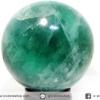 ▽ฟลูออไรต์ (Fluorite) ทรงบอล หินทรงกลม (8.1 CM, 873G)