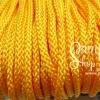 เชือกถัก P.P. #8 สีเหลืองทอง (10เมตร)