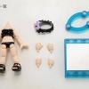 Cu-poche Extra - Frill Swimsuit Body (Black)(Pre-order)