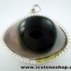 ▽จี้ตาพระศิวะ Agate Eye - Shiva's Eye (13g)