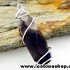 ▽จี้สโมกี้ควอตซ์สีเข้ม black smokey quartz (4.2g)