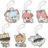 Rubber Mascot Gintama Hata-ouji no Animal Paradise 6Pack BOX(Pre-order)