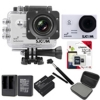 Sj5000 WiFi+Micro SD Kingston 32GB+Battery+Dual Charger+Monopod+Bag (Black)