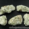 ▽เพชรหน้าทั่ง พัทลุง ไพไรต์ในหิน 5 ชิ้น (30g)