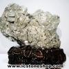 เพชรหน้าทั่งขนาดใหญ่ หรือกลุ่มไพไรต์ pyrite (19.78 Kg)